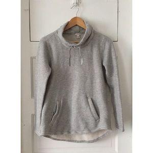 J.Crew gray pullover